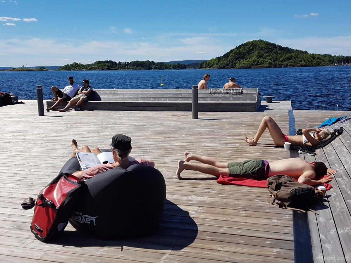 Noorwegen oslo zonnige dag in oslo reisblog van for Internet 28717